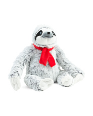 14.5in Sloth Plush Dog Toy