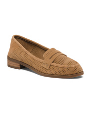 Tailored Suede Loafers