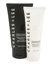 Made In Australia Face Scrub And Moisturizer Set