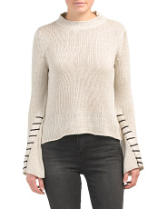 Juniors Whipstitch Sweater