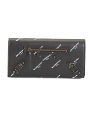 Made In Italy Designer Leather Wallet