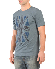 Short Sleeve Union Warp Graphic Tee