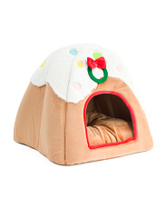 Ginger Bread Cat Cave Bed