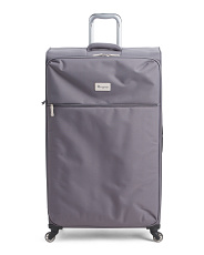 34in 4 Wheel Softside Suitcase