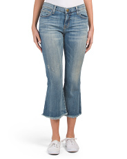 Made In Usa The Cropped Flip Flop Jeans