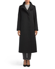 Made In Usa Cashmere Long Coat