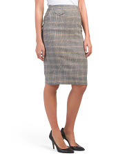 Mill Front Flap Skirt
