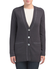 Fairfield Cashmere Boyfriend Cardigan