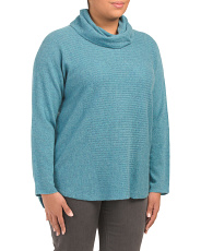 Plus Cashmere Cowl Neck Sweater