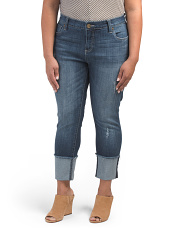Plus Cameron Straight Leg Jeans
