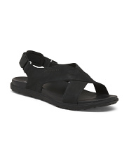 Sport Bottom Leather Sandals