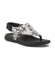 Nubuck Leather Sport Bottom Sandals