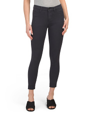 Anja Mid Rise Cuffed Cropped Jeans