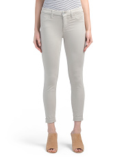 Anja Mid Rise Cuffed Cropped Pants
