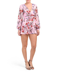 Floral Need You Now Romper