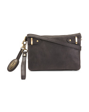 Rockforth Distressed Leather Crossbody