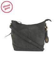 Prisha Leather Crossbody
