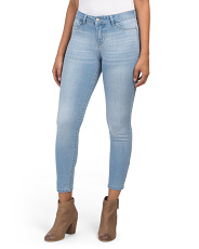 Juniors High Waist Basic Jeans