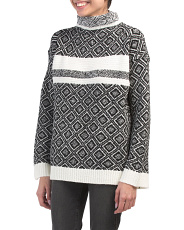 Textured Boxy Drop Shoulder Sweater