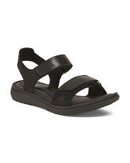 Leather Comfort Footbed Sandals