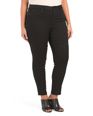 Plus Muffin Top Eliminator Skinny Jeans