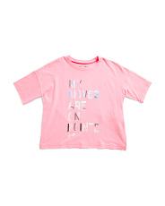 Girls Short Sleeve Logo T-shirt