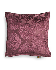 Made In India 20x20 Velvet Sandi Pillow