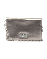 Wallet Crossbody With Chain Strap