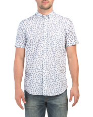 Short Sleeve Scattered Scratch Shirt