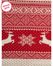 Made In India Nordic Deer Throw