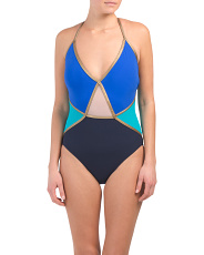 Maritime One-piece Swimsuit