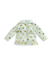 Toddler Girls Hooded Jacket