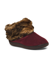 Beckett Microsuede Bootie Style Slippers