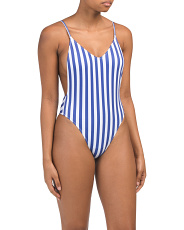 Low Back Cheeky One-piece Swimsuit