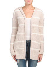 Striped Teddy Cardigan