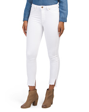 Chrissy High Rise Tone Skinny Jeans