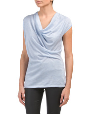Iris Cap Sleeve Cashmere Blend Sweater