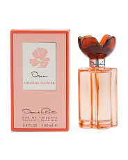 Orange Flower 3.4oz Eau De Toilette Spray