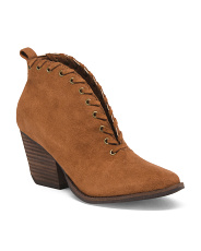 Western Insipired Ankle Booties