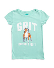 Big Girls Grit Does Not Quit Crusher Tee