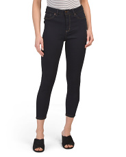 Petite Muffin Cover High Waist Skinny Jeans