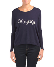 Crew Neck Voyage Sweater