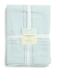 Made In India Teshi Chambray Tablecloth