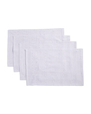 Made In India 4pk Priscilla Chambray Placemats