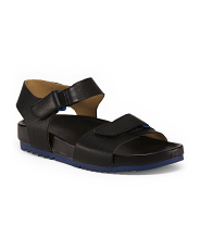 Leather Footbed Sandals