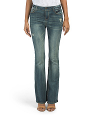 Juniors Low Rise Bootcut Jeans