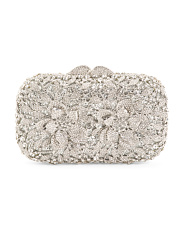Crystal Flower Clutch