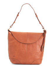 Elaina Leather Hobo