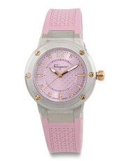 Women's Swiss Made F80 Silicone Strap Watch