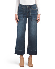 Gaucho Jeans With Pockets